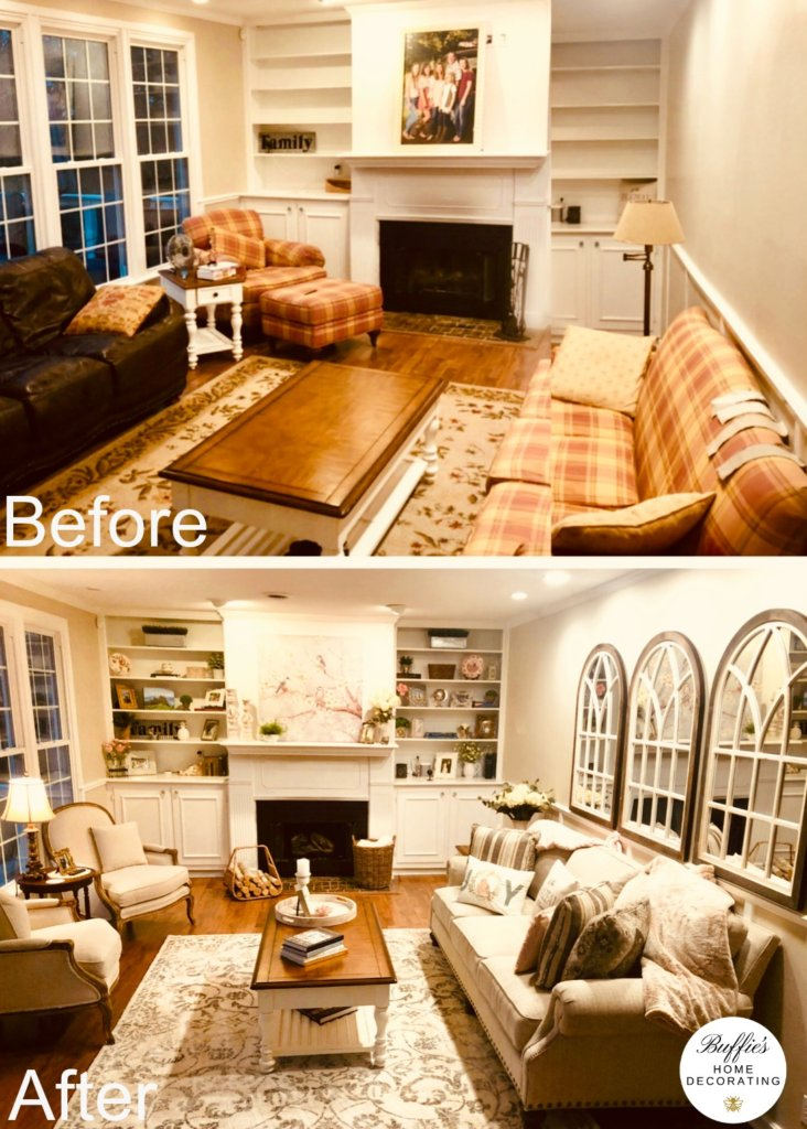 Before After Room Makeovers Buffie S Home Decorating Franklin Tn